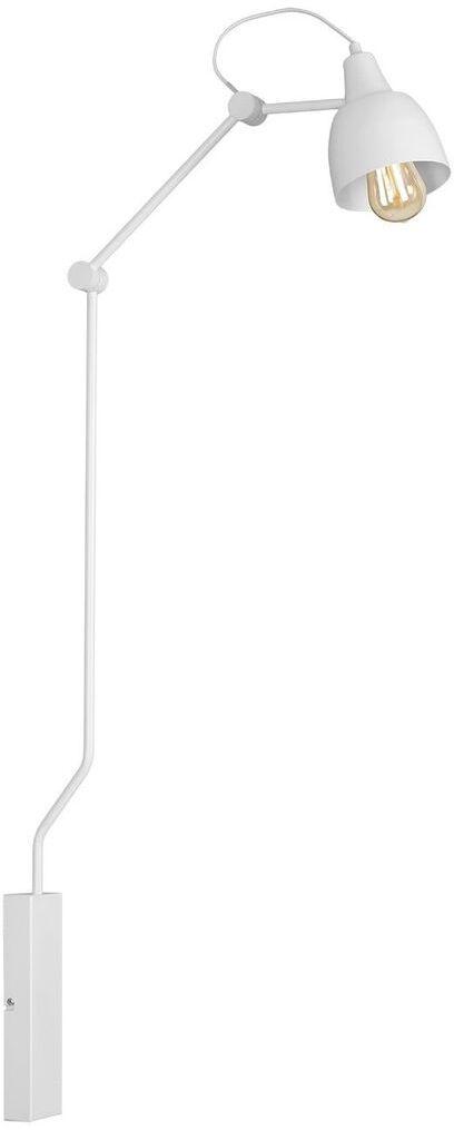 Kinkiet AIDA WHITE 814C Aldex biała ruchoma oprawa ścienna w nowoczesnym stylu