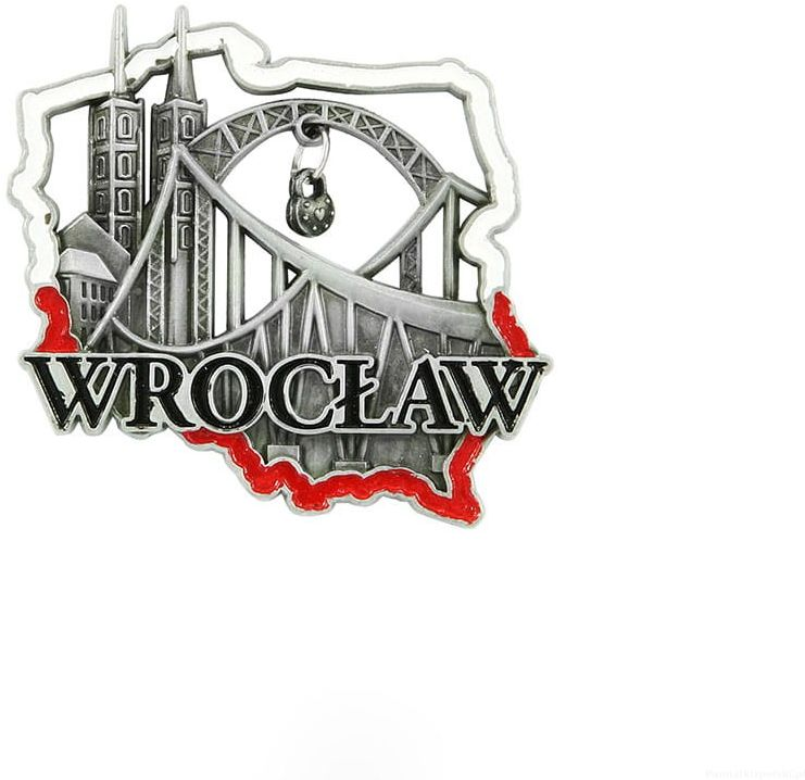 Magnes meatlowy konturek Wrocław most
