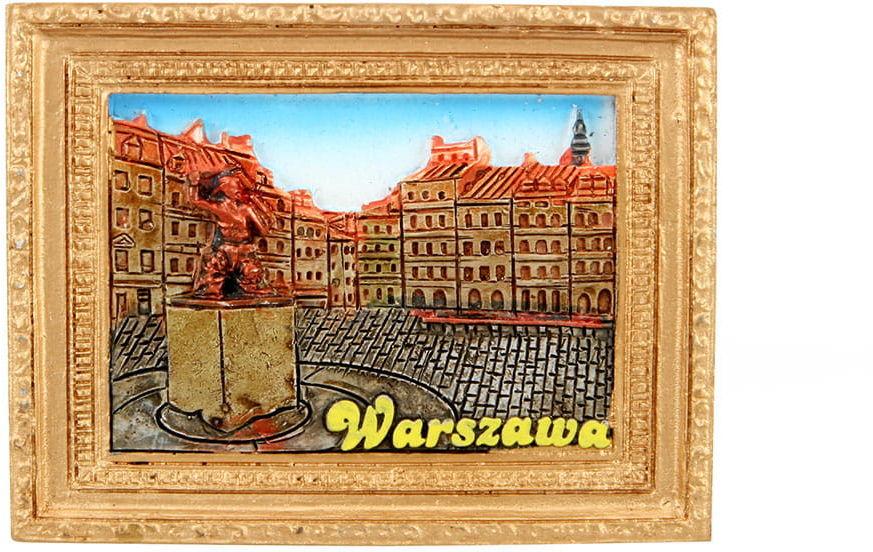 Magnes obraz złota rama Warszawa Zamek