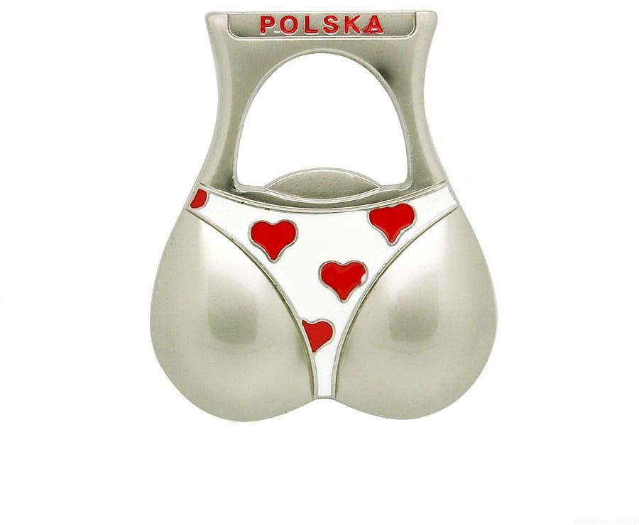 Magnes otwieracz Polska bikini majtki