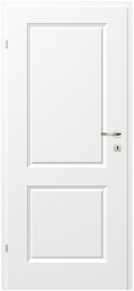 Skrzydło drzwiowe pełne Morano II Białe 70 Lewe Classen