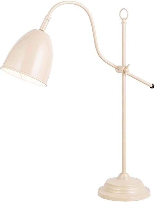 """Näve Leuchten 3110414 A++ do E, metalowa lampa stołowa """"Irland"""", 40 W, E14, brązowa, 20 x 15 x 20 cm"""