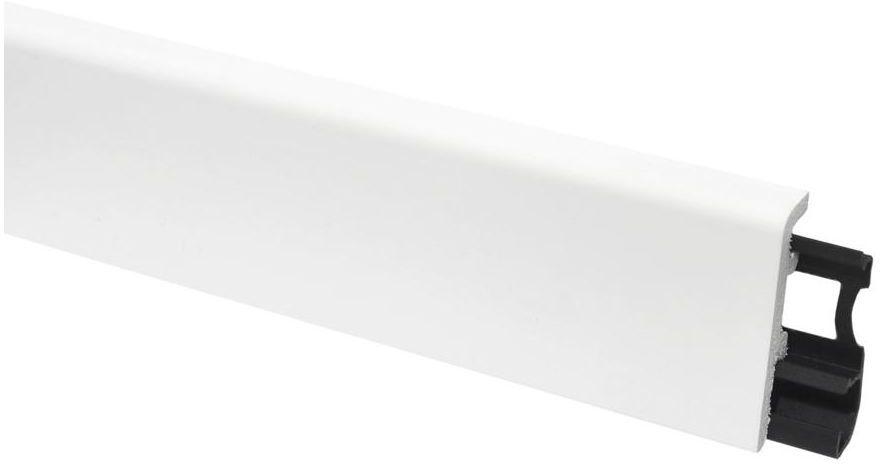 Listwa przypodłogowa pcv Vega 60 Biała P0610 Arbiton