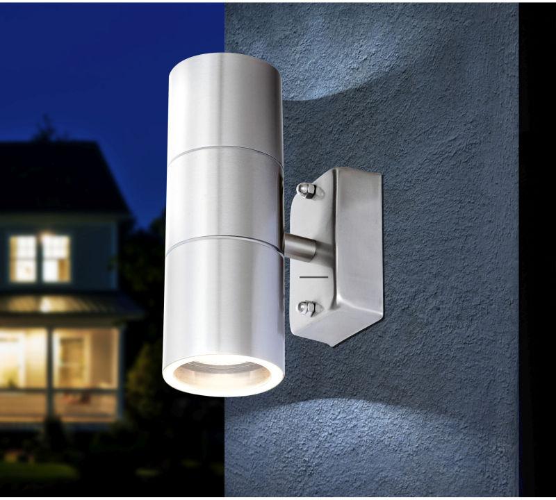 Globo STYLE 3201-2L kinkiet lampa ścienna zewnętrzna 2xGU10 LED 5W 6cm IP44