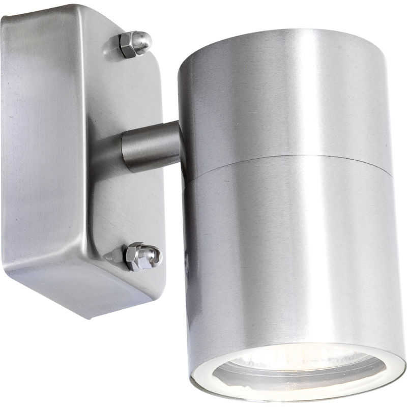 Globo STYLE 3201L kinkiet lampa ścienna zewnętrzna stal nierdzewna 1xGU10 LED 5W 3000K 10,5cm IP44