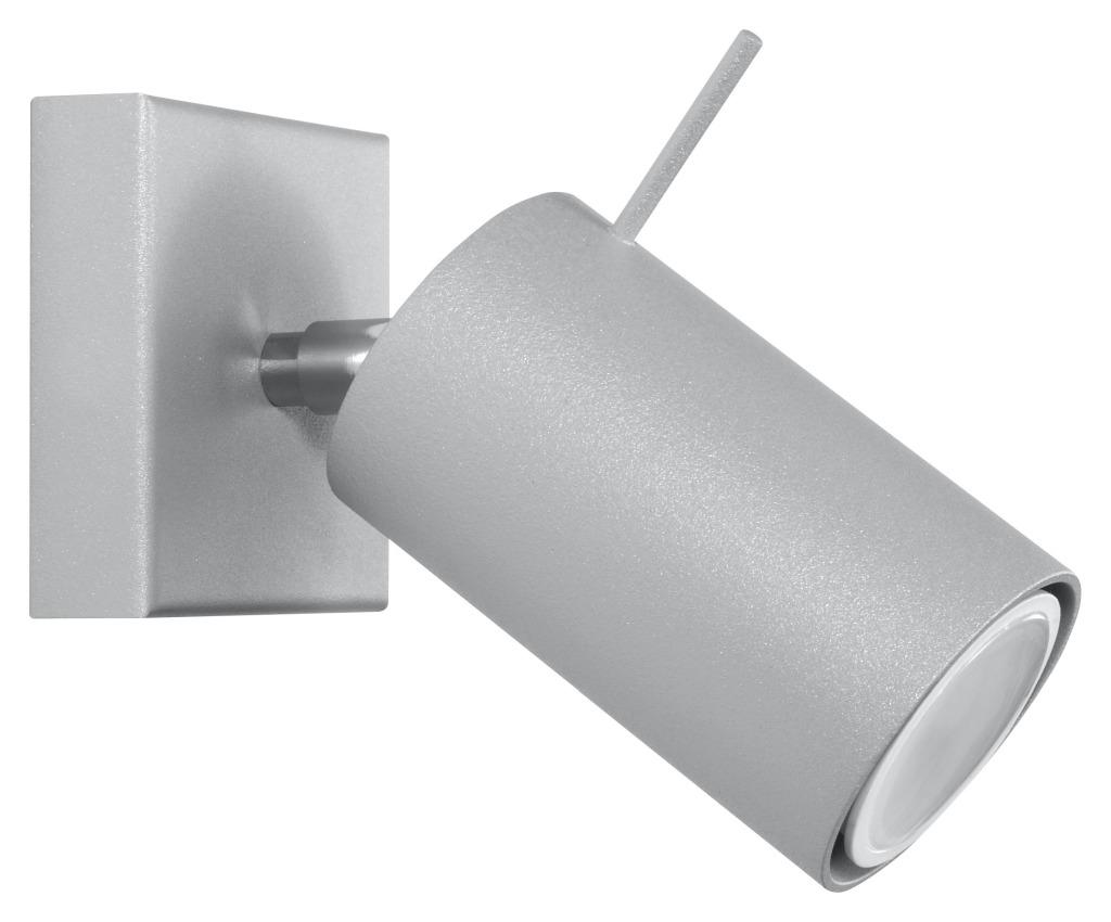 Kinkiet regulowany Ring szara tuba SL.0449 - Sollux Do -17% rabatu w koszyku i darmowa dostawa od 299zł !