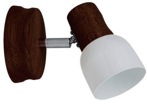 SPOTLIGHT kinkiet SVANTJE z drewna bukowego w kolorze orzechowym 2239176