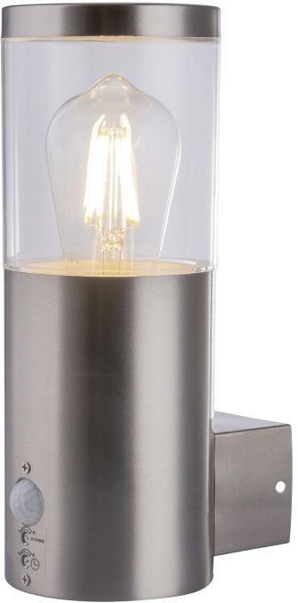 Globo LALLI 34019S kinkiet lampa ścienna zewnętrzna stal nierdzewna 1xE27 27,5cm IP44
