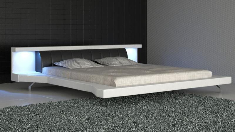 Łóżko tapicerowane Soul Led 140x200