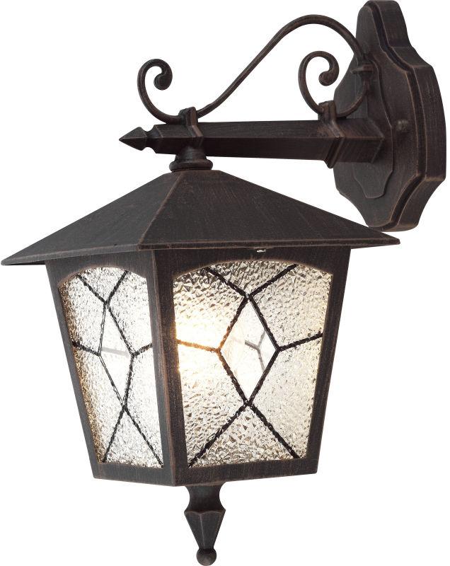 """Globo kinkiet lampa ścienna Atlanta 3125 aluminium czarne, tworzywo sztuczne """"mrożone"""", IP44"""