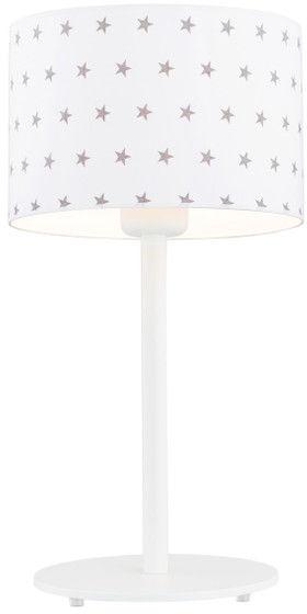 Lampka nocna Magic 4125 Argon biała oprawa w szare gwiazdki