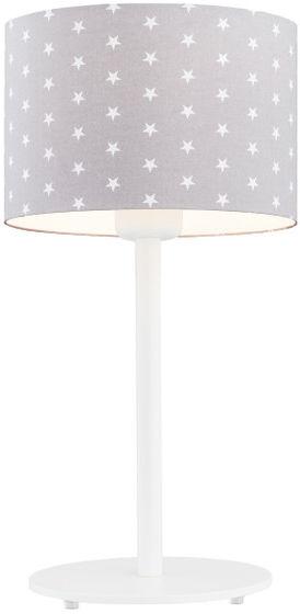 Lampka nocna Magic 4126 Argon szara oprawa w białe gwiazdki
