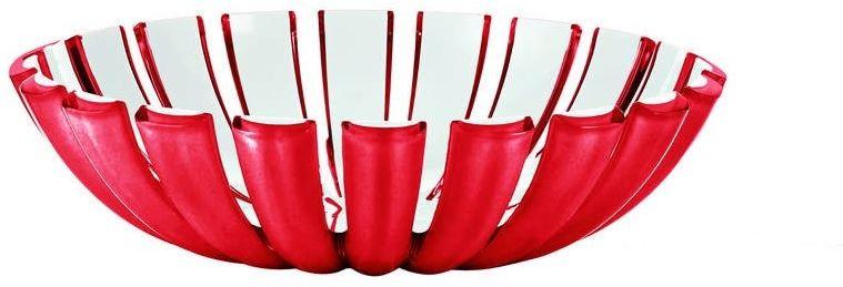 Guzzini - grace - koszyk na pieczywo / owoce, czerwony