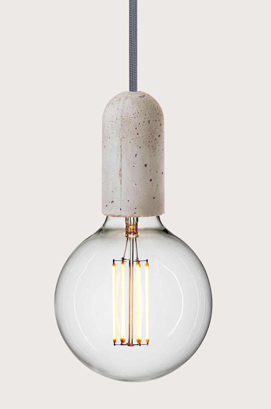 Lampa NUD Base Szara Betonowa