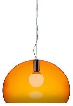 Small Fl/Y Ø38 pomarańczowy - Kartell - lampa wisząca