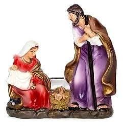 Świecznik ze Świętą Rodziną - Boże Narodzenie 7,5 cm