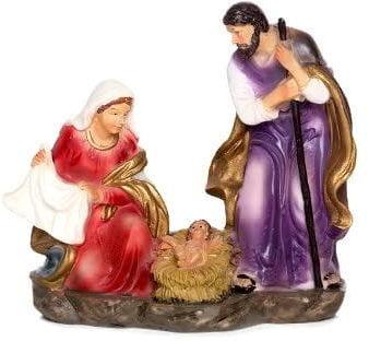 Świecznik ze Świętą Rodziną - Boże Narodzenie, 12,5 cm