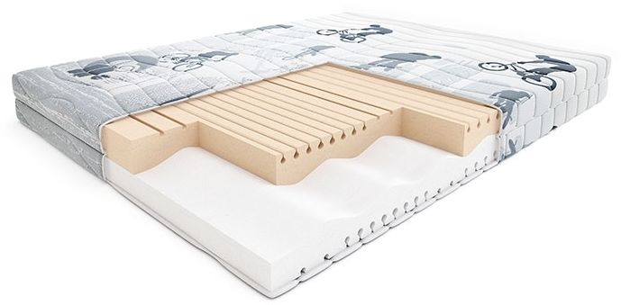 Materac BREAKDANCE HILDING piankowy : Rozmiar - 100x200, Pokrowce Hilding - Young