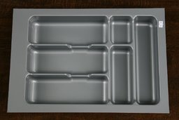 Wkład szuflady 490x40 aluminium (34cm x 49cm x 5cm)