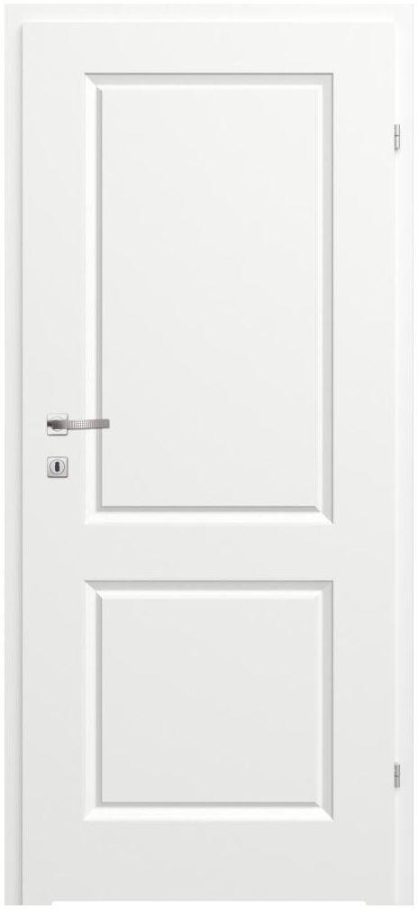 Skrzydło drzwiowe z podcięciem wentylacyjnym Morano II Białe 60 Prawe Classen