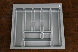 Wkład szuflady 490x60 aluminium (54cm x 49cm x 5cm)