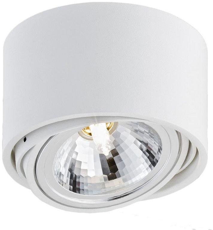 Kaspa - oprawa stropowa natynkowa pojedyncza - lumos - biała