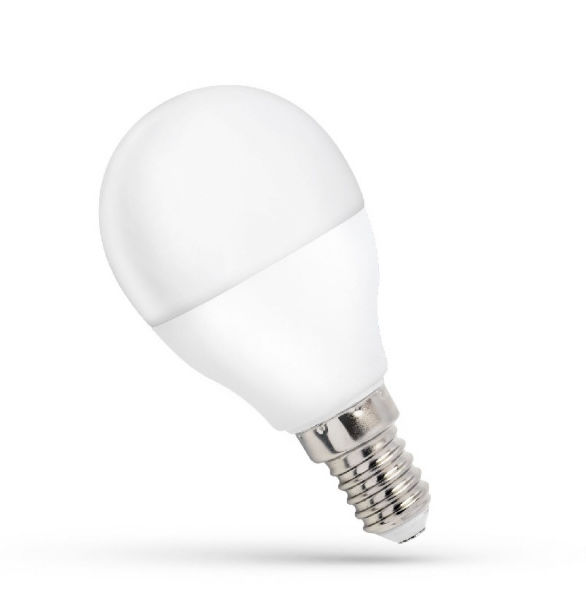 SOLLUX LIGHTING Żarówka LED kulka E-14 4000K 8W neutralna
