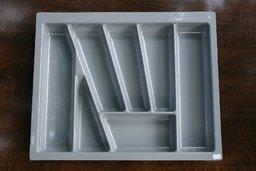 Wkład szuflady 430x60 aluminium (53cm x 43cm x 5cm)