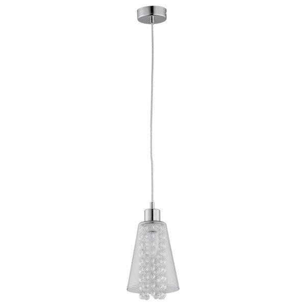 Lampa wisząca zwis kryształowa MARINE chrom/transparentny śr. 13,5cm