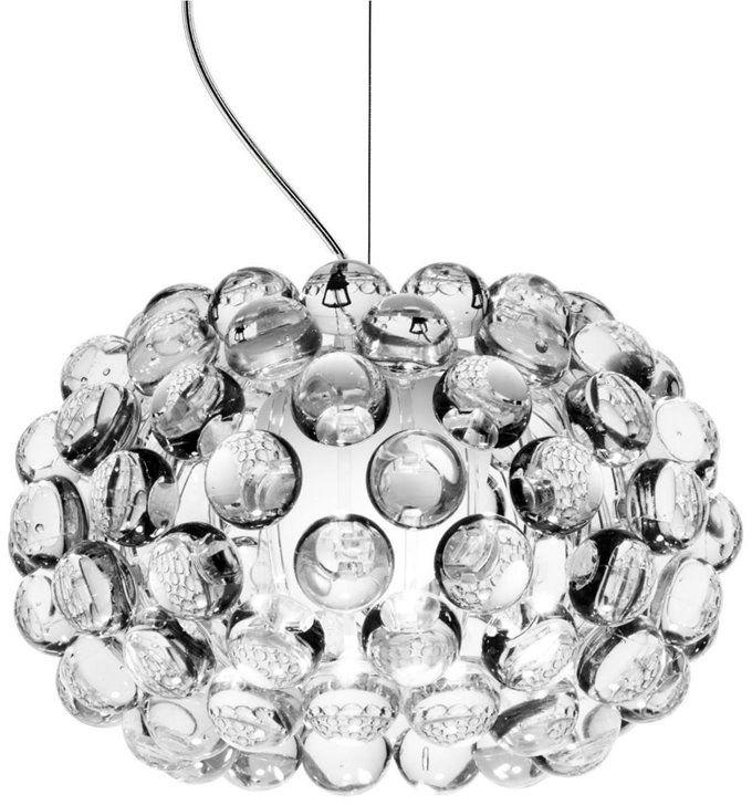 Caboche Ø31 przezroczysty - Foscarini - lampa wisząca