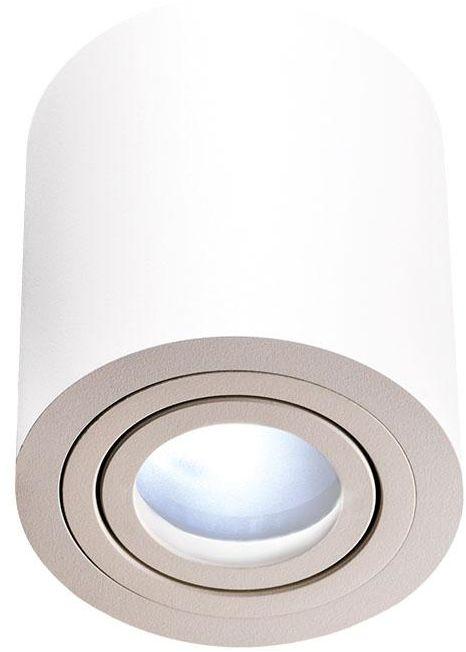 Oprawa natynkowa Rullo Bianco IP44 Orlicki Design minimalistyczna oprawa w kolorze białym