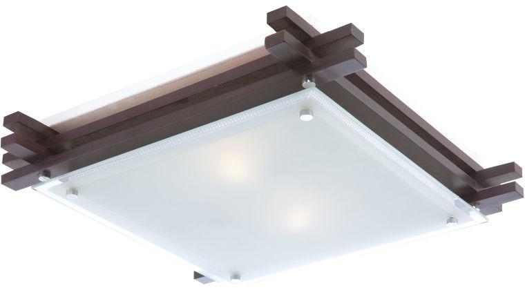 Globo EDISON 48324-2 lampa sufitowa ciemny brąz E27 60W 40cm