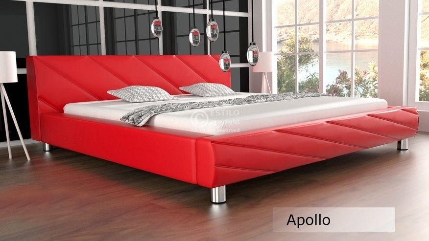 Łóżko do sypialni Apollo skóra naturalna 200x220