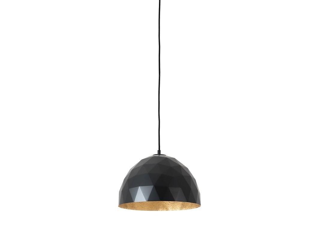Lampa wisząca LEONARD M - złoto-czarny - Customform