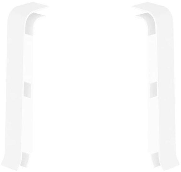 Zakończenie do listwy przypodłogowej Esquero 601 Białe 2 szt. Vox