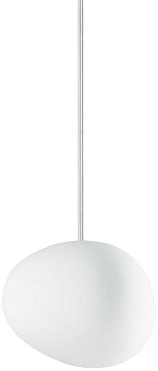 Gregg Piccola Ø13 biały - Foscarini - lampa wisząca