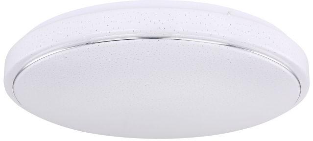 Globo KALLE 48408-32 plafon lampa sufitowa biała chrom LED 32W 3000-6000K 49cm