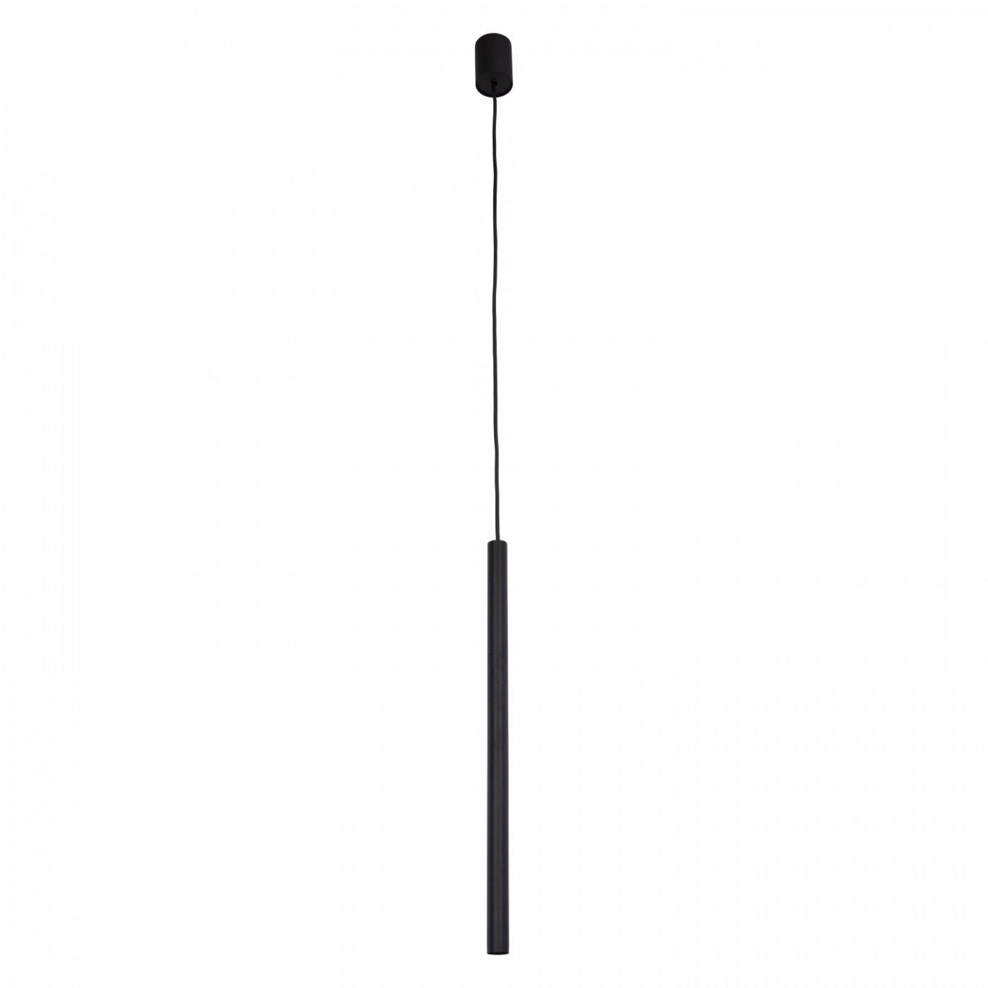 Lampa wisząca Laser 8797 Nowodvorski Lighting pojedynczy czarny zwis w nowoczesnym stylu