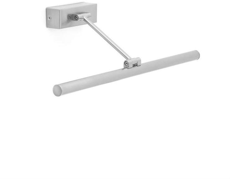 Magritte L45 srebrny - Faro - lampa ścienna