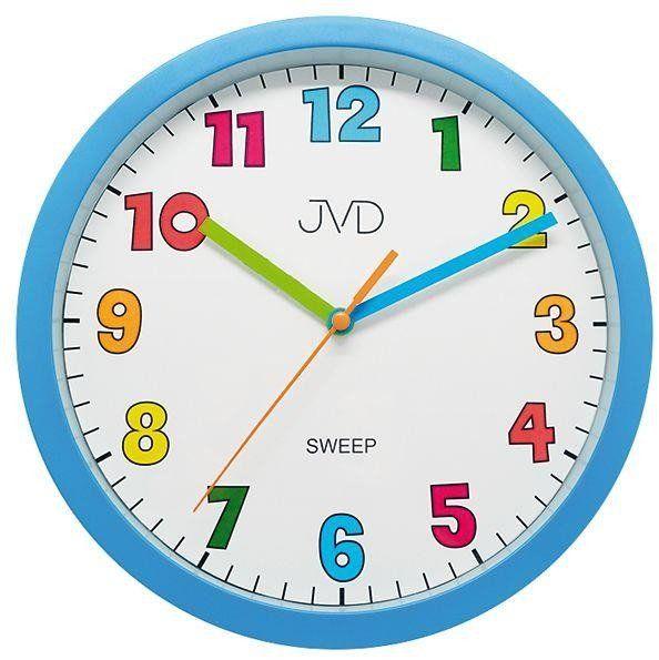 Zegar ścienny JVD HA46.1 Kolorowy, cichy
