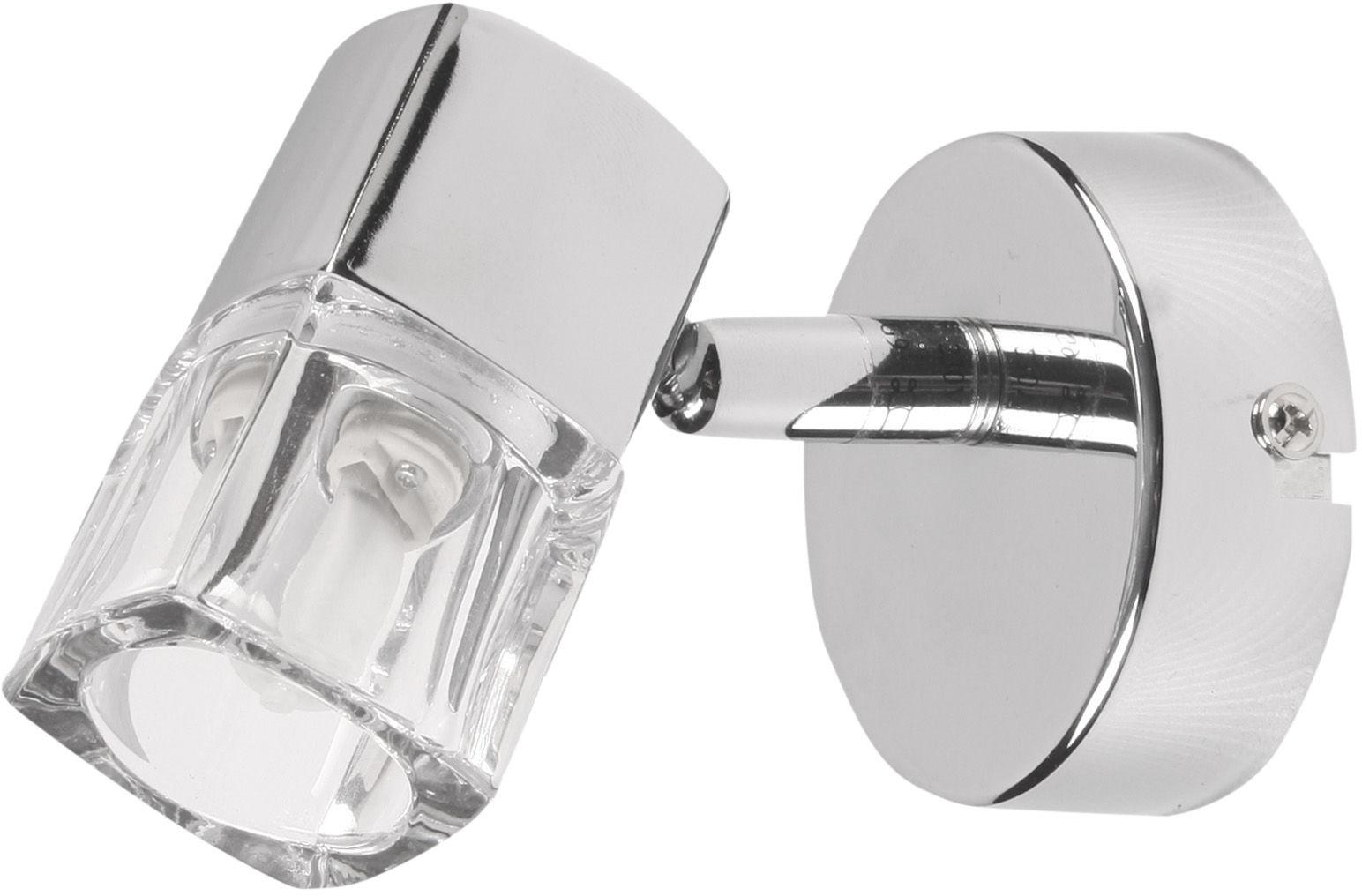 Candellux DIAMENT 91-19229 kinkiet lampa ścienna chrom kryształowy klosz 1X40W G9 4,2cm