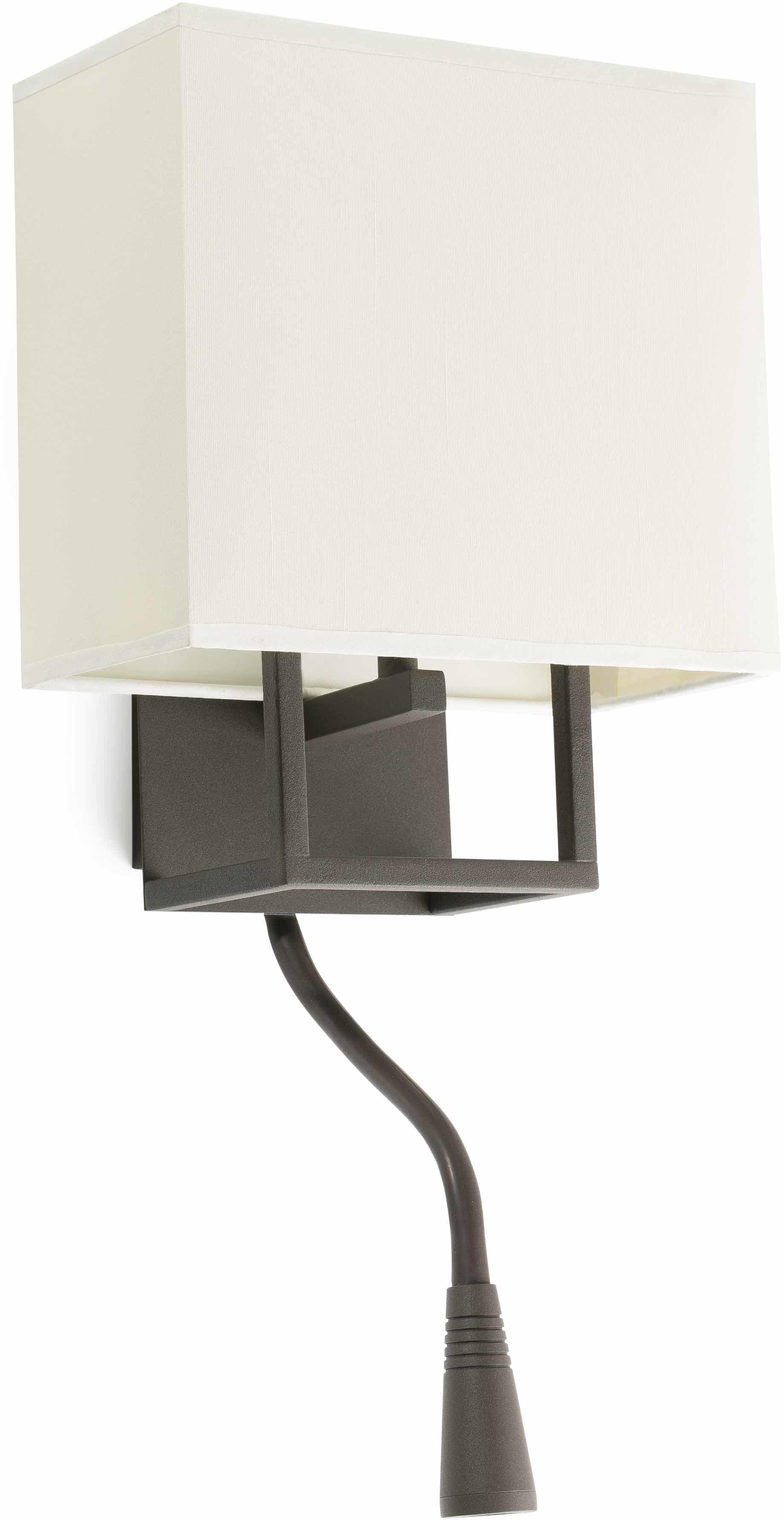 Vesper H45 brązowy - Faro - lampa ścienna