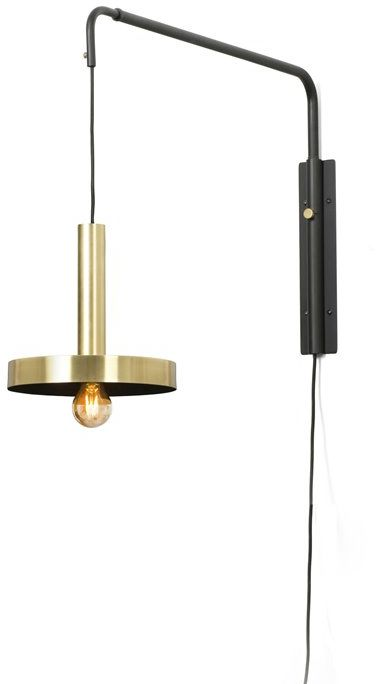 Whizz L70-120 złoty, czarny - Faro - lampa ścienna