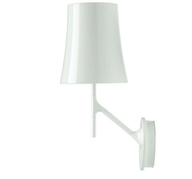Birdie H42 biały - Foscarini - lampa ścienna