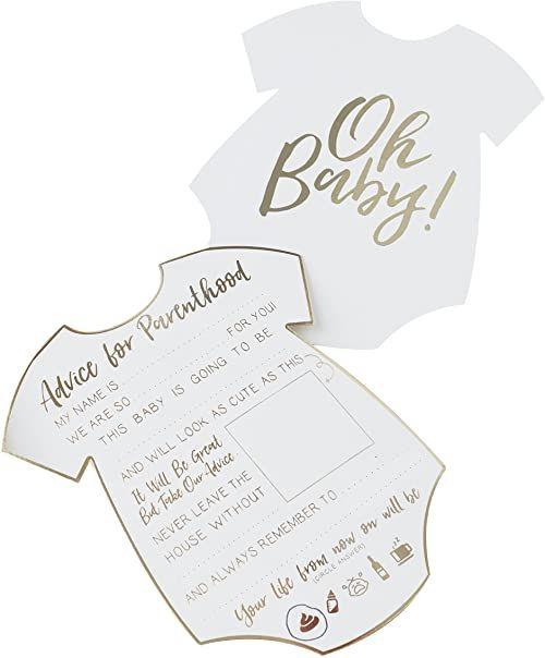 Ginger Ray Gold Foiled Baby Shower 10 sztuk