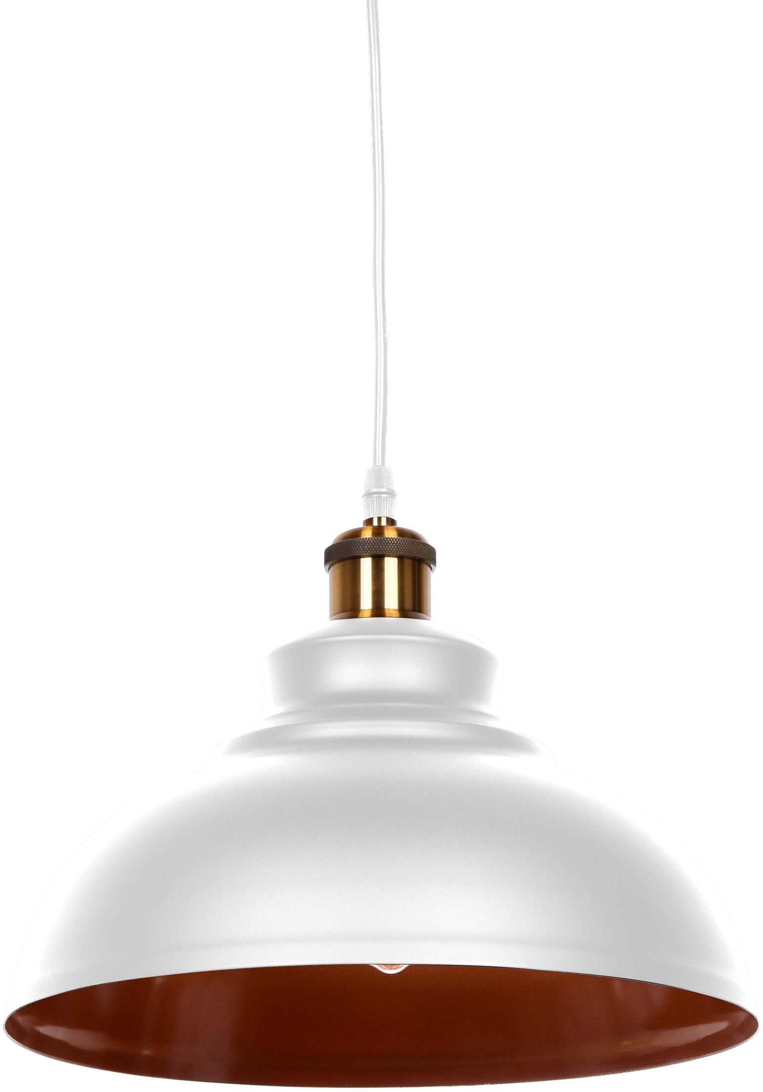 LAMPA WISZĄCA LOFT BIAŁA BOGGI