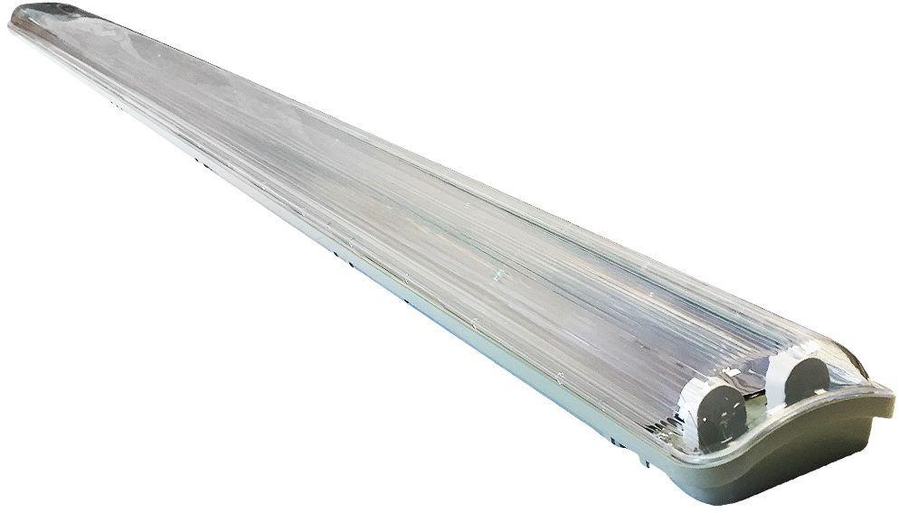 Oprawa hermetyczna IP65 Szary 127cm 2xT5 EKH1718 - Milagro // Rabaty w koszyku i darmowa dostawa od 299zł !