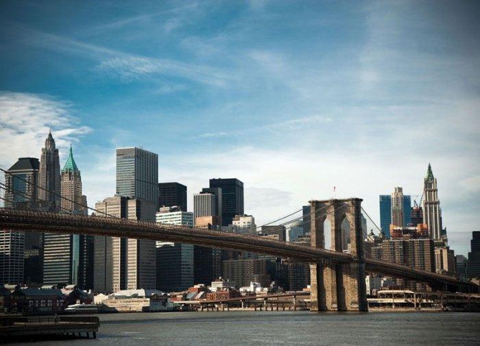 Fototapeta na ścianę - Brooklyn Bridge - 254x183 cm