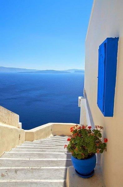 Fototapeta Grecja - 115x175 cm