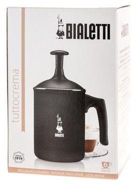 Bialetti Tuttocrema spieniacz do mleka czarny 330 ml 6 tz